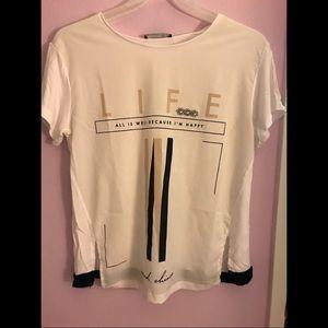 Fun t-shirt.